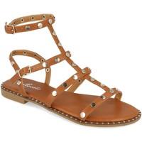 Schoenen Dames Sandalen / Open schoenen Tephani TF2255 Camel