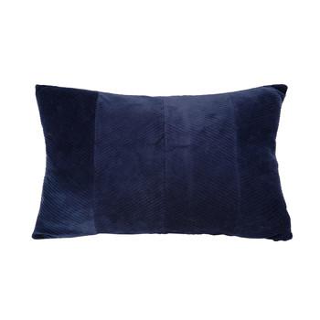 Wonen Kussens Present Time RIBBED Blauw / Nacht