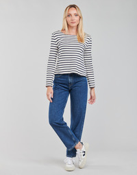 Textiel Dames Straight jeans Pepe jeans DOVER Blauw / Medium