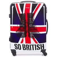 Tassen Valise Rigide David Jones UNION JACK 83L Multikleuren