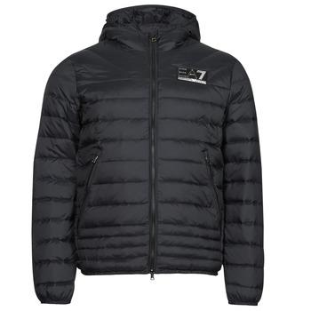 Textiel Heren Dons gevoerde jassen Emporio Armani EA7 MOUNTAIN M DOWN Zwart