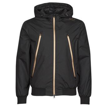 Textiel Heren Wind jackets Emporio Armani EA7 TRAIN CORE ID Zwart / Goud