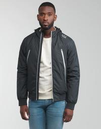 Textiel Heren Wind jackets Emporio Armani EA7 TRAIN CORE ID Marine
