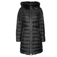 Textiel Dames Dons gevoerde jassen MICHAEL Michael Kors ECO LONG PERFMNC PUFFER Zwart