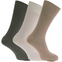 Accessoires Heren Sokken Universal Textiles  Olijf/Crème/Beige