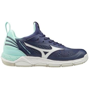 Schoenen Dames Fitness Mizuno Wave Luminous W Bleu marine, Turquoise