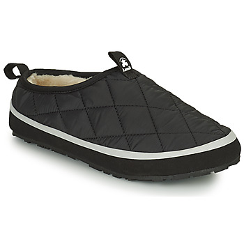 Schoenen Dames Sloffen KAMIK PUFFY Zwart