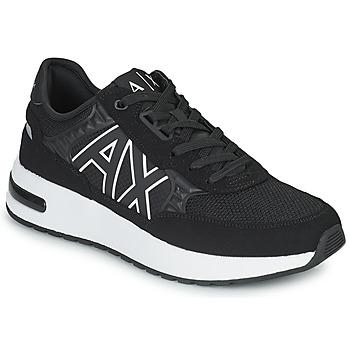 Schoenen Heren Lage sneakers Armani Exchange MALIKA Zwart / Wit