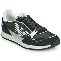 Schoenen Heren Lage sneakers Emporio Armani ANIMA Zwart