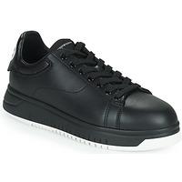 Schoenen Heren Lage sneakers Emporio Armani ANITY Zwart