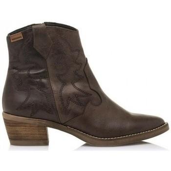 Schoenen Dames Enkellaarzen MTNG Cleo 58963 Brown