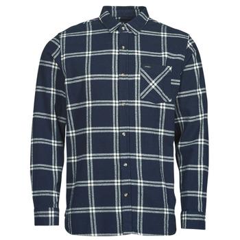 Textiel Heren Overhemden lange mouwen Rip Curl CHECKED OUT L/S FLANNEL Blauw