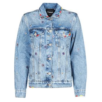 Textiel Dames Spijker jassen Desigual JULIETA Blauw
