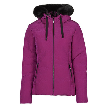 Textiel Dames Dons gevoerde jassen Desigual SNOW Roze