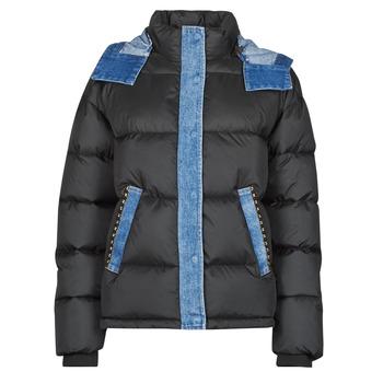Textiel Dames Dons gevoerde jassen Desigual AUSTEN Zwart