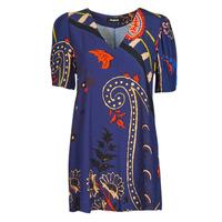 Textiel Dames Korte jurken Desigual TERRASSA Blauw