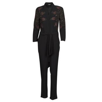 Textiel Dames Jumpsuites / Tuinbroeken Desigual NIAGARA Zwart