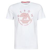 Textiel Heren T-shirts korte mouwen Oxbow N2TOMSK Wit