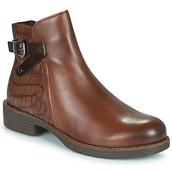 Schoenen Dames Laarzen Marco Tozzi DEMINA Brown