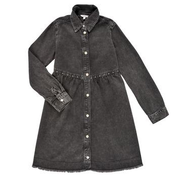 Textiel Meisjes Korte jurken Pepe jeans FLORIDA DRESS Zwart
