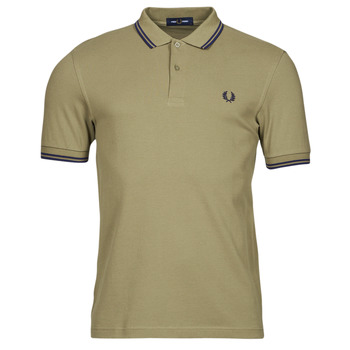Textiel Heren Polo's korte mouwen Fred Perry THE FRED PERRY SHIRT Beige