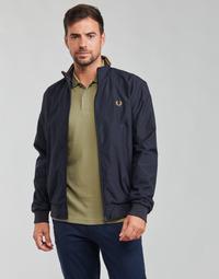Textiel Heren Wind jackets Fred Perry BRENTHAM JACKET Marine