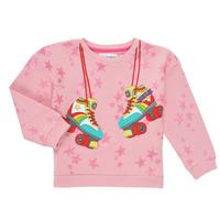 Textiel Meisjes Sweaters / Sweatshirts Desigual MARGARA Roze