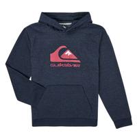 Textiel Jongens Sweaters / Sweatshirts Quiksilver BIG LOGO YOUTH Marine