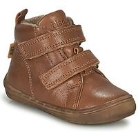 Schoenen Jongens Hoge sneakers Bisgaard DEE Cognac