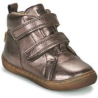 Schoenen Meisjes Hoge sneakers Bisgaard DEE Zilver