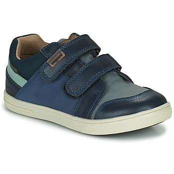 Schoenen Jongens Lage sneakers Bisgaard LEVI TEX Marine