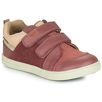 Schoenen Meisjes Lage sneakers Bisgaard LEVI TEX Roze