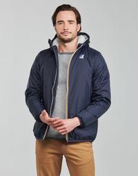 Textiel Heren Wind jackets K-Way LE VRAI 3.0 CLAUDE ORSETTO Blauw