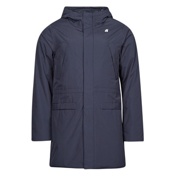 Textiel Heren Parka jassen K-Way REMI RIPSTOP MARMOTTA Blauw