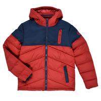 Textiel Jongens Dons gevoerde jassen Kaporal JEGA Rood / Marine