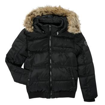 Textiel Jongens Dons gevoerde jassen Kaporal JOMIR Zwart