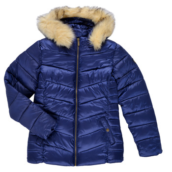 Textiel Meisjes Dons gevoerde jassen Kaporal BETTI Marine