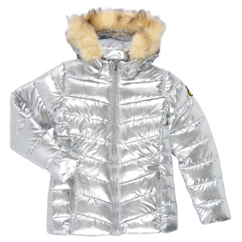 Textiel Meisjes Dons gevoerde jassen Kaporal BLAZE Zilver