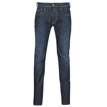 Textiel Heren Skinny jeans Replay ANBASS Blauw / Donker