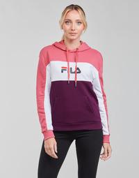 Textiel Dames Sweaters / Sweatshirts Fila AQILA HOODY Roze / Wit / Violet