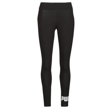 Textiel Dames Leggings Puma ESS LOGO LEGGINGS Zwart