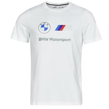 Textiel Heren T-shirts korte mouwen Puma BMW MMS ESS LOGO TEE Wit
