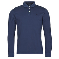 Textiel Heren Polo's lange mouwen Hackett HM550879 Blauw