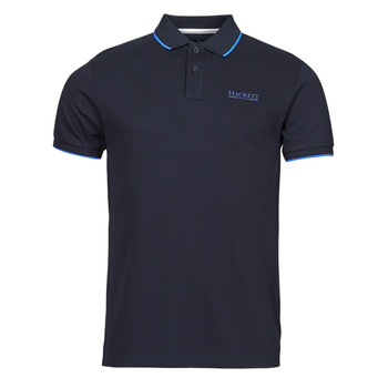 Textiel Heren Polo's korte mouwen Hackett HM562897 Marine