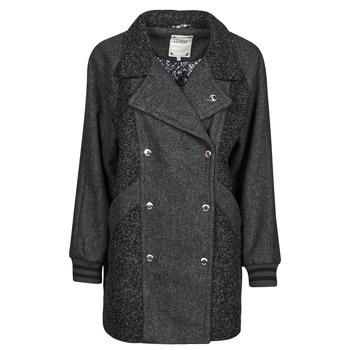 Textiel Dames Mantel jassen Kaporal FLOWY Grijs