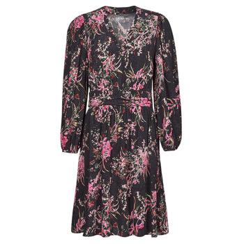 Textiel Dames Korte jurken One Step FT30101 Zwart / Multicolour