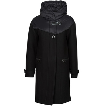 Textiel Dames Mantel jassen One Step FT44041 Zwart