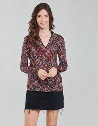 Textiel Dames Tops / Blousjes One Step FT10191 Rood / Multicolour