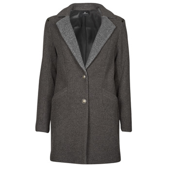Textiel Dames Mantel jassen One Step FT44061 Kaki / Grijs