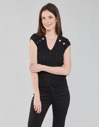 Textiel Dames Tops / Blousjes Morgan MDIDO Zwart